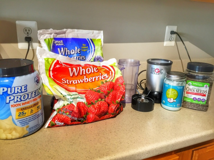 Berry Protein Smoothie Pic 1
