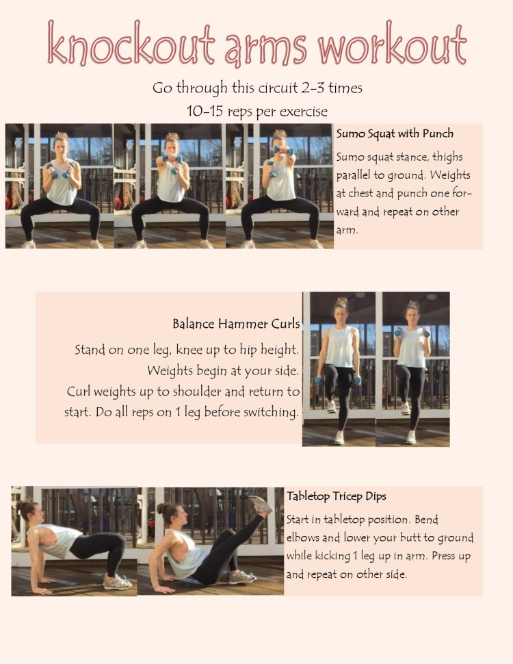 Knockout Arms Workout 1